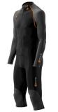 SKINS S400 Mens Thermal All in One Suit - Black/Orange