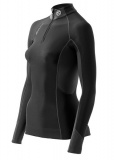SKINS S400 Womens Thermal Top LS w Neck and Zip