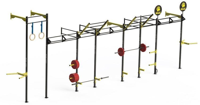 Wall Mounted CrossFit Rig (CrossFitová klec), BEAR FOOT BEARFOOT