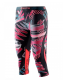 SKINS DNAmic Womens 3/4 Capri Tights - Junkyard