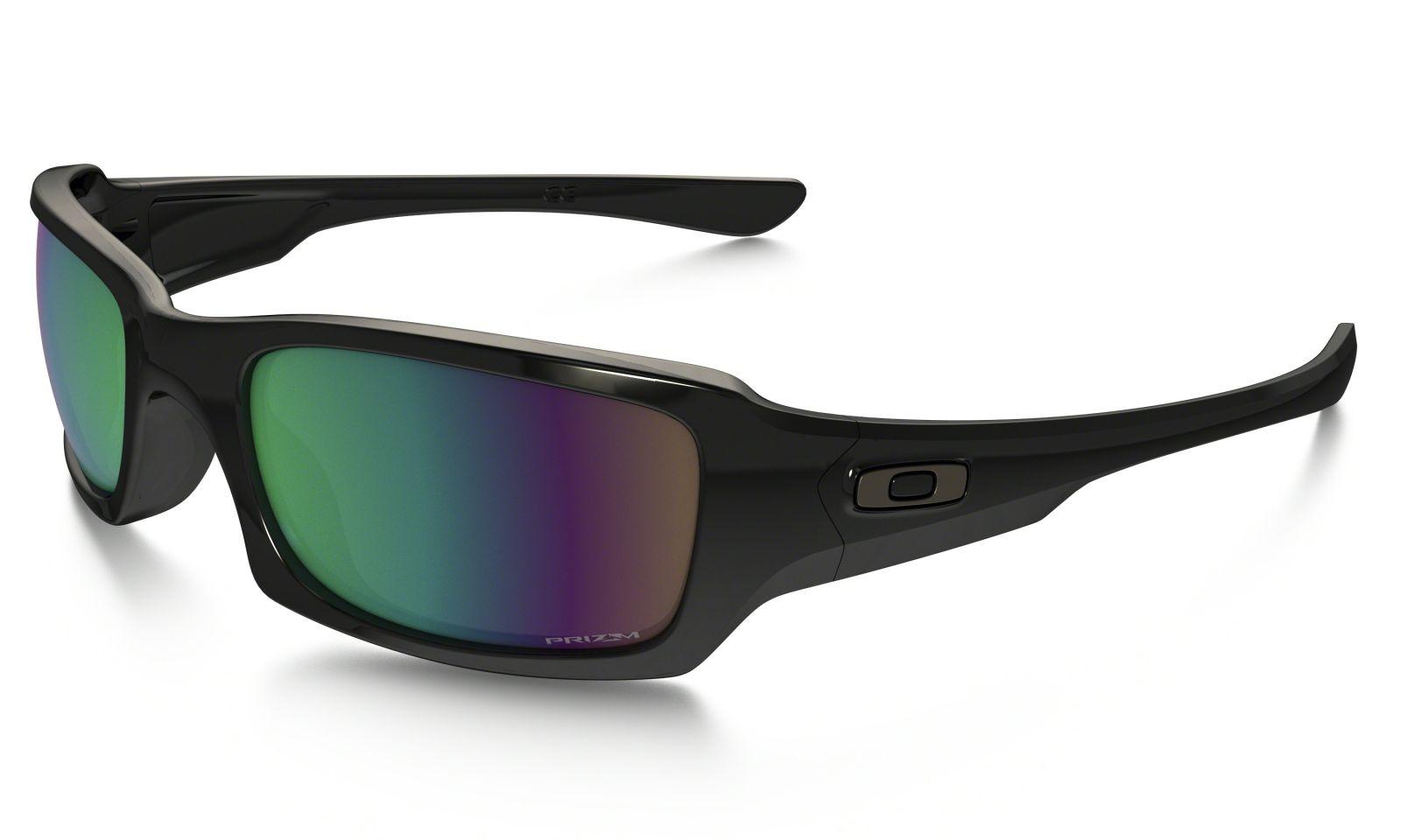 Brýle OAKLEY Fives Squared - Polished Black W/Prizm Shallow Water Polarized