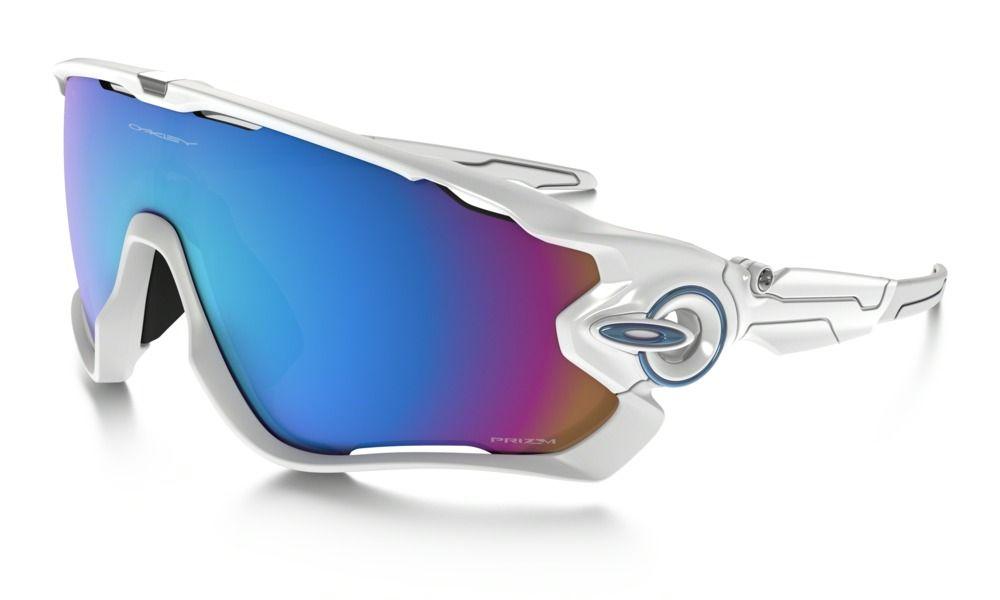 Brýle OAKLEY Jawbreaker - Polished White W/Prizm Snow Sapphire Iridium