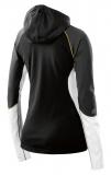 Bunda SKINS PLUS Orion Womens Long Sleeve Hoodie - Black/Cloud