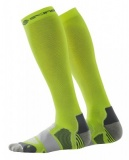 SKINS Essentials Compression Socks - Fluro Citron/Pewter