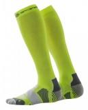 SKINS Essentials Compression Socks - Fluro Citron/Pewter