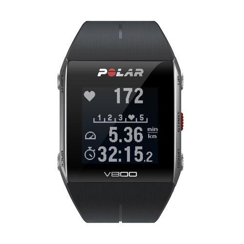Sporttester POLAR V800 GPS Running Pack, Black