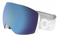 OAKLEY Flight Deck Factory Pilot Whiteout w/Prizm Sapphire Iridium