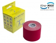 KineMAX SuperPro Cotton Tape - červený, 5cmx5m