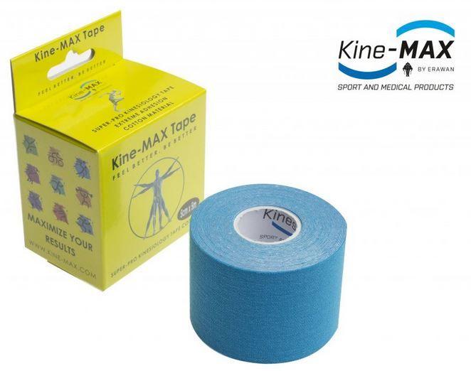 KineMAX SuperPro Cotton Tape - modrý, 5cmx5m