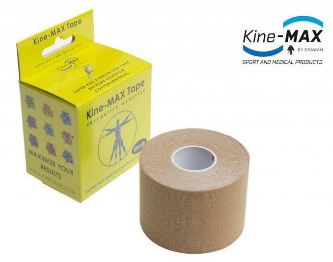 KineMAX SuperPro Cotton Tape - tělový, 5cmx5m