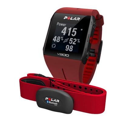 Sporttester POLAR V800 GPS Special edition HR, Red