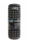 Masážní válec KineMAX Professional Masage Foam Roller, Černý