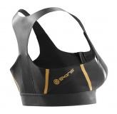 Podprsenka SKINS A400 GOLD Womens Speed Crop - Black/Gold