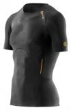 SKINS A400 Mens Short Sleeve Top - Black