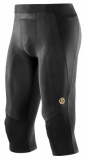 SKINS A400 Mens 3/4 Tights - Black