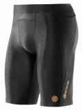 SKINS A400 Mens Half Tights - Black