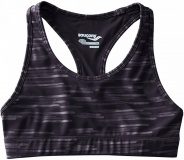 SAUCONY Rock-it Womens Knitted Bra Top, Black