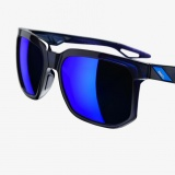 Brýle 100% Centric - Polished Translucent Blue/Electric Blue Mirror