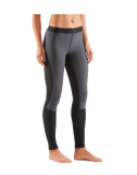 SKINS DNAmic Thermal Windproof Womens Long Tights - Black (dámské větruvzdorné zateplené kompresní kalhoty SKINS)