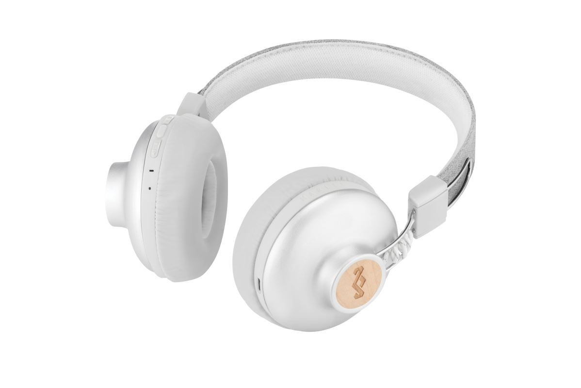 Sluchátka MARLEY Positive Vibration 2.0 Bluetooth, Silver