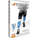 Kompresní návleky na lýtka ROYAL BAY Extreme RACE, černé