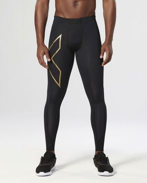 2XU Elite MCS kompresní legíny, Black/Gold