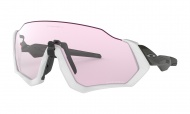 OAKLEY Flight Jacket - Carbon W/Prizm Low Light