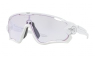 OAKLEY Jawbreaker Polished White W/Prizm Low Light