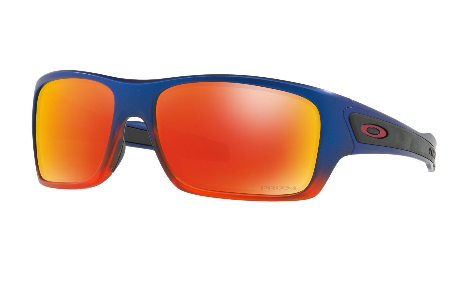 Brýle OAKLEY Turbine - Orange Pop Fade W/Prizm Ruby