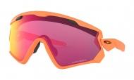 OAKLEY Wind Jacket 2.0 Matte Neon Orange w/Prizm Road