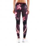 Kompresní kalhoty SKINS DNAmic Womens Long Tights, Exotica (dámské kompresní kalhoty SKINS)