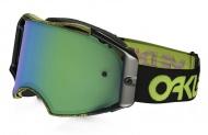 OAKLEY Airbrake MX Factory Pilot Thumbprint Green W/Jade Iridium