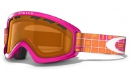 OAKLEY 02 XS Bright Rose Icon Blks W/Persimmon