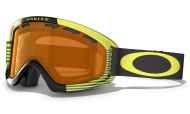 OAKLEY 02 XS Shaun White Block Stripes N.Yellow W/Persimmon