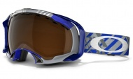 OAKLEY Splice Tech Plaid Blue/Black Iridium