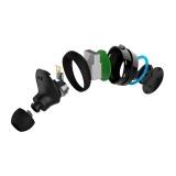 Bluetooth sluchátka NICEBOY Hive Pods, černomodrá