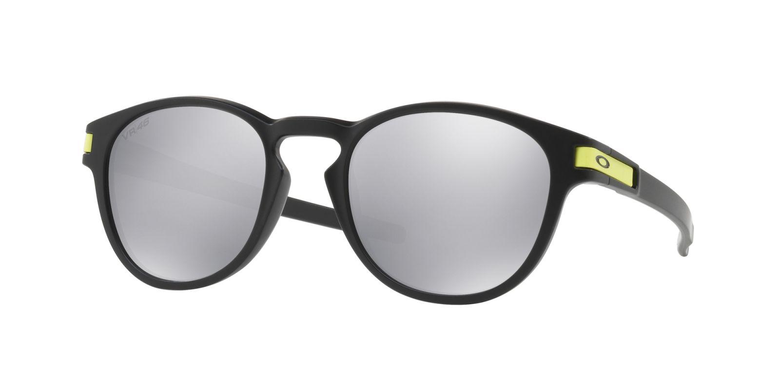 Brýle OAKLEY Latch VR46 - Matte Black W/Chrome Iridium