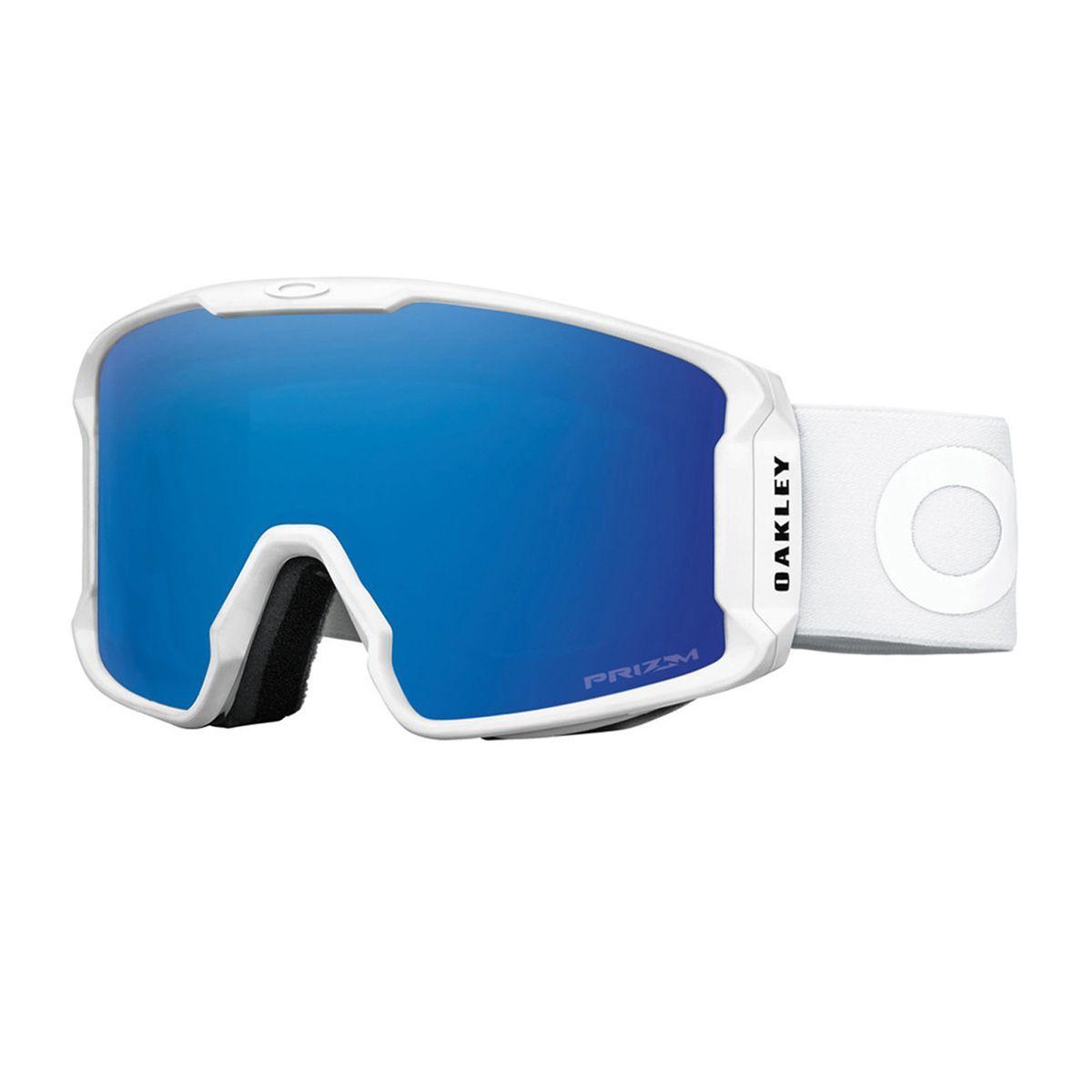 Brýle OAKLEY LineMiner Factory Pilot Whiteout W/Prizm Sapphire Iridium