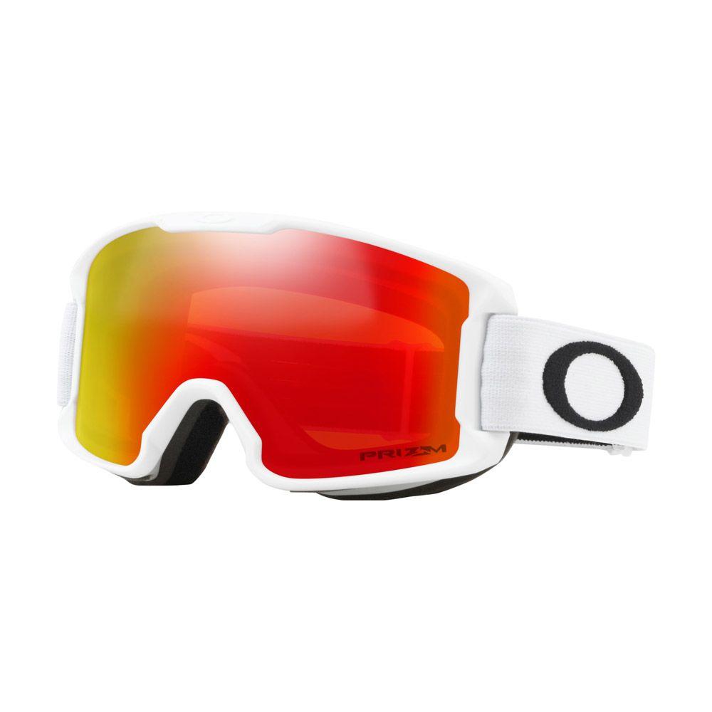 Brýle OAKLEY LineMiner Youth Matte White W/Prizm Torch