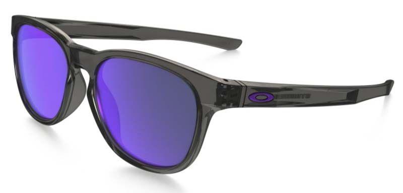 Brýle OAKLEY Stringer - Grey Smoke W/Violet Iridium