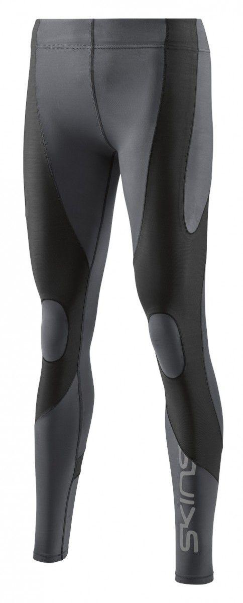 SKINS K-Proprium Womens Compression Long Tights, Charcoal (dámské kompresní dlouhé kalhoty SKINS)
