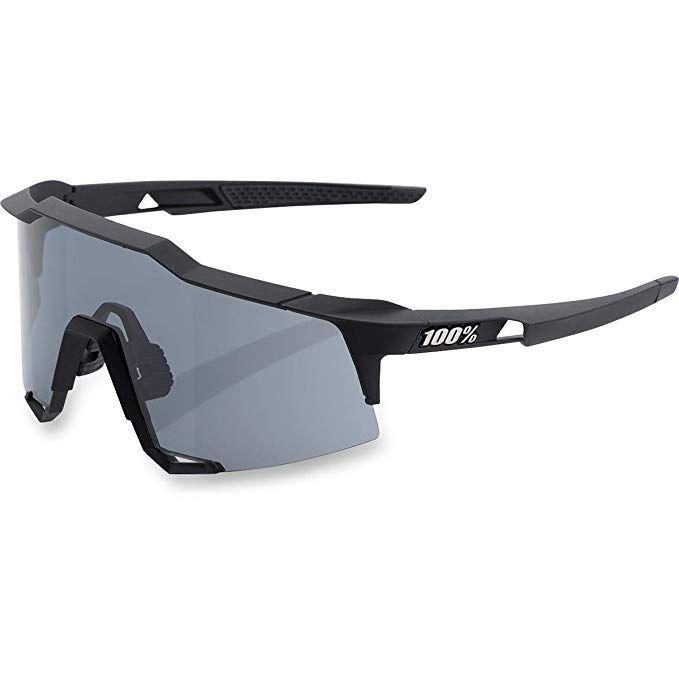 Brýle 100% SpeedCraft LL - Black/Smoke lens, 61001-100-57
