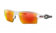 OAKLEY Flak 2.0 XL - Polished White w/Prizm Ruby
