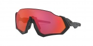 OAKLEY Flight Jacket - Matte Black w/Prizm Trail Torch