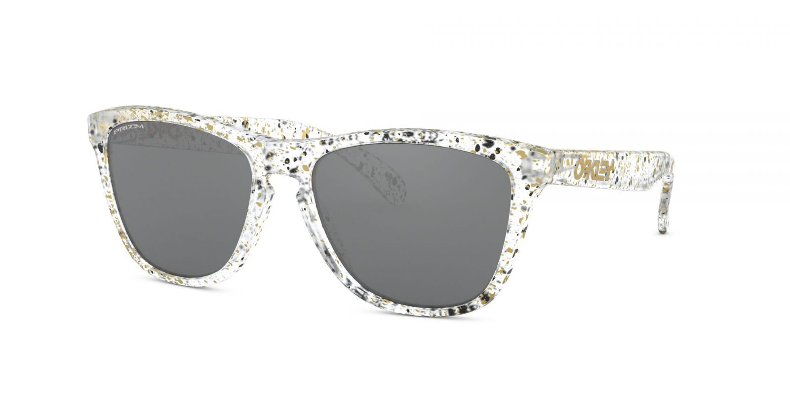 Brýle OAKLEY Frogskins - Splatter Clear w/Prizm Black