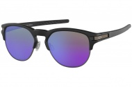 OAKLEY Latch Key - Matte Black w/Violet Iridium