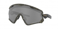 OAKLEY Wind Jacket 2.0 Splatter Olive w/Prizm Black