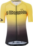 OAKLEY Colorblock TdeF Road Jersey, Black/Yellow