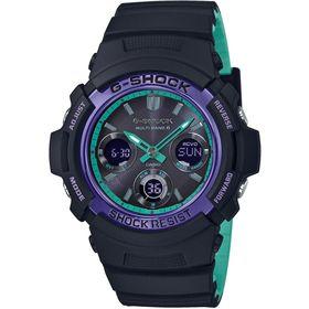 Hodinky CASIO G-Shock AWG M100SBL-1Aer