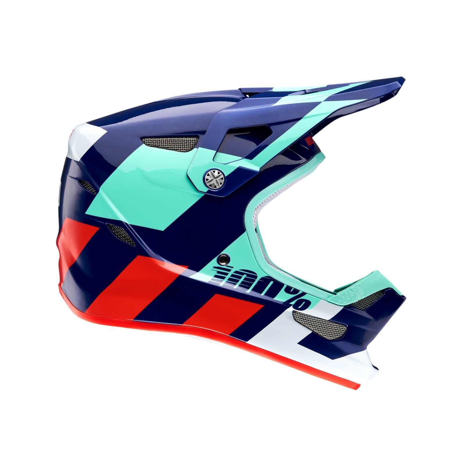BMX Integrální Helma 100% Status DH MIPS, Hakken